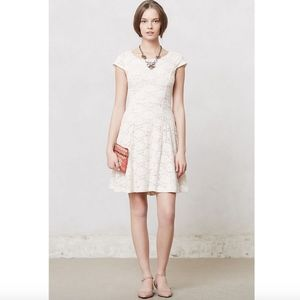 Maeve Anthropologie Dayflower Lace Dress